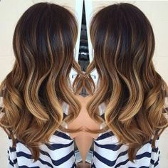 Subtle, Wavy Ombre - Hairstyles and Beauty Tips