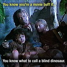 Do-you-think-he-suarus! What do you call a blind dinosaurs dog? Do-you-think-he-saurus rex!