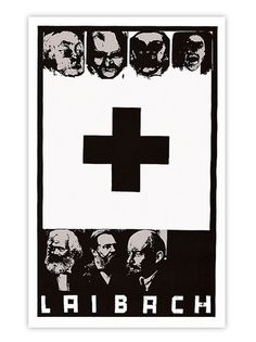 The Death of Ideology; Laibach poster from Industrial Metal, Industrial Music, Reading Room, Music Industry, Death, Poster, Character, Art, Bands