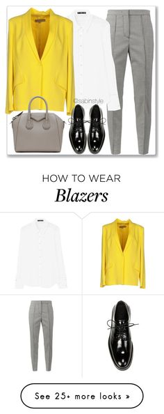 """Untitled #2254"" by sabina-127 on Polyvore featuring MSGM, MANGO, Space Style Concept, Vince and Givenchy"