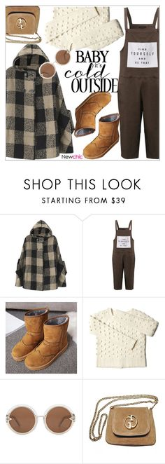 """Newchic"" by teoecar ❤ liked on Polyvore featuring Karen Walker and Gucci"