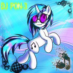 DJ PON-3 (ver.2) by Northern-Owlet.deviantart.com on @deviantART