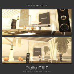PREVIEW - The PANAREA Sea Club    That's the preview of a new Mega-club produced by Digital CULT, ideal for  1/4 regions, with 10 shops, large dacefloor, dj booth, concert stage,   mediterranean bar and lounge areas. Furnitures, plants and accessories  included.    ..... An EOLIAN Islands tribute .......