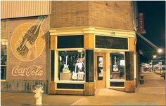 Fender window display in Tupelo, MS