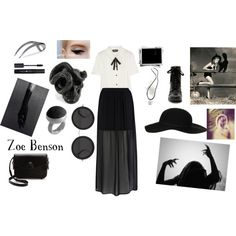 """""""Zoe Benson ~ American Horror Story: Coven"""" by asthmaticme on Polyvore"""
