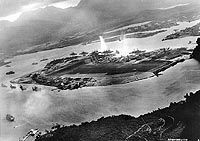 Pearl Harbor, Oahu, Hawaii. Sunday, December-07-1941