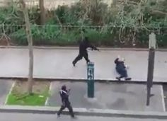 Watch: Islamic Terrorists Murder French Police Officer. WARNING: Graphic.
