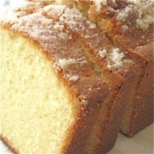 Golden Vanilla Pound Cake. I'm not even a pound cake person and I could eat a whole loaf of this myself.