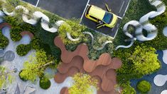 Gallery of Hyperlane Linear Sky Park / ASPECT Studios - 4 Architecture Concept Drawings, Landscape Architecture Design, Bali Architecture, Landscape Designs, Landscape Model, Contemporary Landscape, Urban Landscape, Chengdu, Music Universities