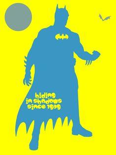Batman - hiding in shadows since 1939