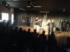 High School Drama pupils doing physical theatre in the Drama Studio this morning. Pupils were given a phrase which they had to illustrate by means of physical movements.