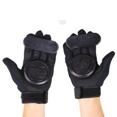 1 x Pair of Skateboard Gloves. Anti-vibration foam under the palm trees to your enough support, and protect your hands. Not only protect the palm, but also protect the joints and nails. Extra durable fabric at the fingertips terry thumb panel to wipe at the sweat. | eBay!