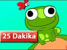 Küçük Kurbağa Kuyruğun Nerede +11 Çocuk Şarkısı (25 Dakika)