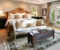 love country bedrooms!