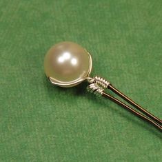 Ivory Pearl Bobby Pins  Hair Accessory Hair by herecomesthebride, $13.00