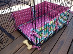 Crate Cover Custom Order With Bumper Pads For Wendy Crate Cover And Crates