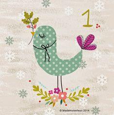 Mademoiselleyo: Advent calendar 1