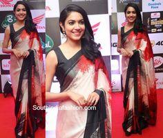 Ritu Varma in a printed saree