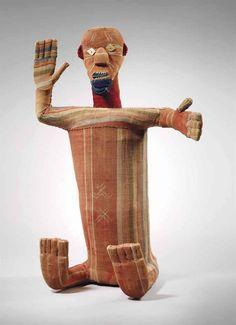 Statuette reliquaire Bembé, mudzini Bembe reliquary figure, mudzini République Démocratique du Congo  Hauteur: 47 cm. (18½ in.)