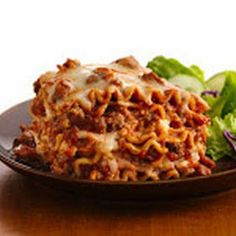 Healthier crackpot lasagna! Ground turkey instead of beef (beef can be used)