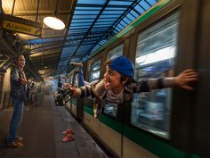 Paris subway by Adrian Sommeling on 500px