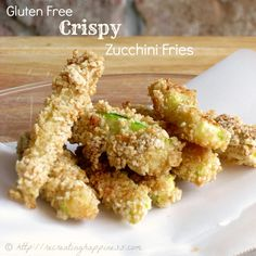 Gluten Free Crispy Baked Zucchini Fries | #GF #Zucchini #Fries