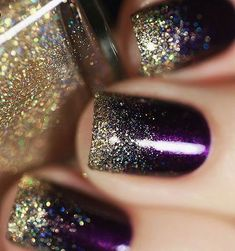 Are you looking for nail colors design for winter? See our collection full of cute winter nail colors design ideas and get inspired! Nail Art Designs, Winter Nail Designs, Winter Nail Art, Colorful Nail Designs, Beautiful Nail Designs, Beautiful Nail Art, Winter Nails, Sparkle Nails, Fancy Nails