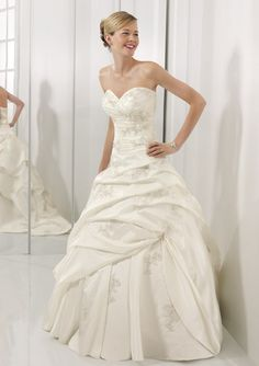 I absolutely love this dress by Mori Lee!!!! 2406  Luxe Taffeta with Embroidery