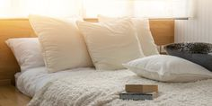 Many factors go into finding the best pillow for neck pain, from material to size and shape. Here's what to consider, plus the best pillow options from pros. Contour Pillow, Pillow Mattress, Essential Oils For Headaches, Memory Pillows, Best Marriage Advice, Feather Pillows, Foam Pillows, Neck Pain