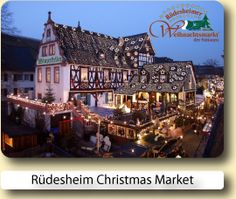Rudesheim Christmas Market - German Christmas Market Tourist Information