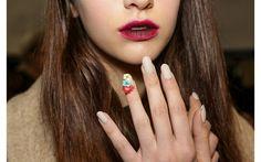 Le nail art della Milano fashion week - Tendenze unghie inverno 2016/2017