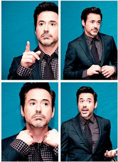 Robert Downey Jr. But seriously, good ideas for poses