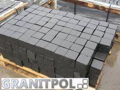 Schwarzer Granit - Natursteine aus Polen und Schweden