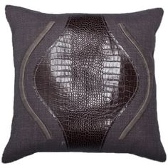 I pinned this Small Crosby Pillow III in Smoke & Croc from the Ankasa event at Joss and Main!