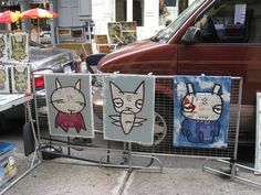 Art - Soho street vendor