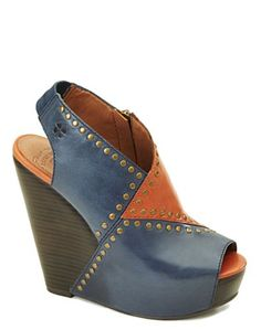 Ramada Leather-Covered Wedges - Sale - Lucky Brand Jeans