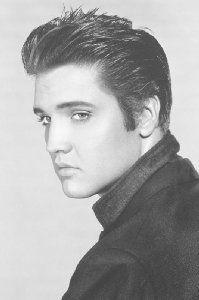 "große laminierte Poster ""Elvis Presley - Loving You Close Up"" - Größe 91.5 x 61 cm (ca.)"