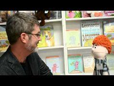 Earl Interviews Children's Author Mo Willems...puppet interviews favorite children's authors and illustrators