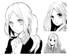 An art collage from September 2016 Hibi Chouchou, Shoujo, Romance Manga, Drawings, Anime Girls, Character Art, September, Collage, Faces