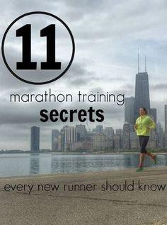 11 Marathon Training Secrets Every New Runner Should Know. #marathon #training #tips