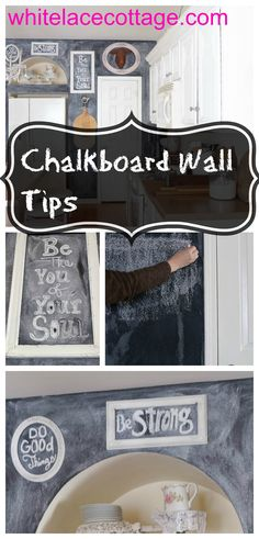 Chalkboard Wall Tips - White Lace Cottage