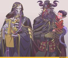 Overlord (Anime),Anime,Аниме,Ainz Ooal Gown,Ulbert Alain Odle,Demiurge,pandora's actor
