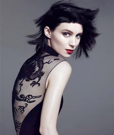 Rooney Mara - Vogue outtakes by Mert & Marcus, November 2011
