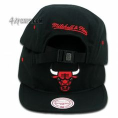 CHICAGO BULLS (5 PANEL BY MITHCELL & NESS) 4ucaps.com / 4U / 4U Caps / House of Fitted Caps / Custom New ERA Caps / Custom Fitted / 59Fifty Caps / Snapback Caps / Custom Brands