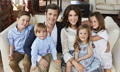 5/13/14.  Crown Prince Frederik of Denmark and Princess Mary's 10th anniversary