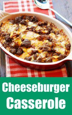 Delicious cheeseburg