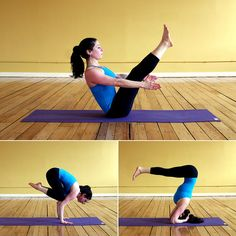 Strengthen Your Core With These 5 Essential Poses Yoga calms your mind and increases your flexibility, but it can also strengthen your core and give you the tight and toned tummy you need to feel confident in your tiny two-piece. Try these five yoga poses that target your abs and back muscles.