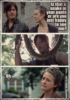 The Walking Dead so wrong but so funny