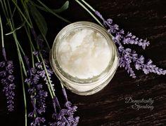 Homemade Body Scrub Recipe Vanilla Lavender smells amazing perfect for winter skin