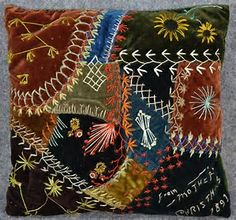 Image result for Antique Crazy Quilts